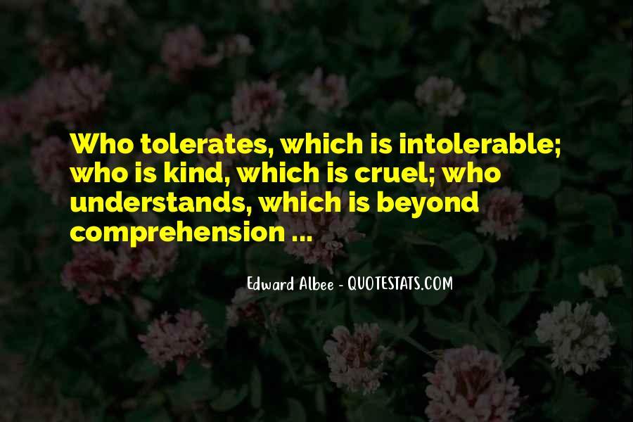 Tolerates Quotes #123167