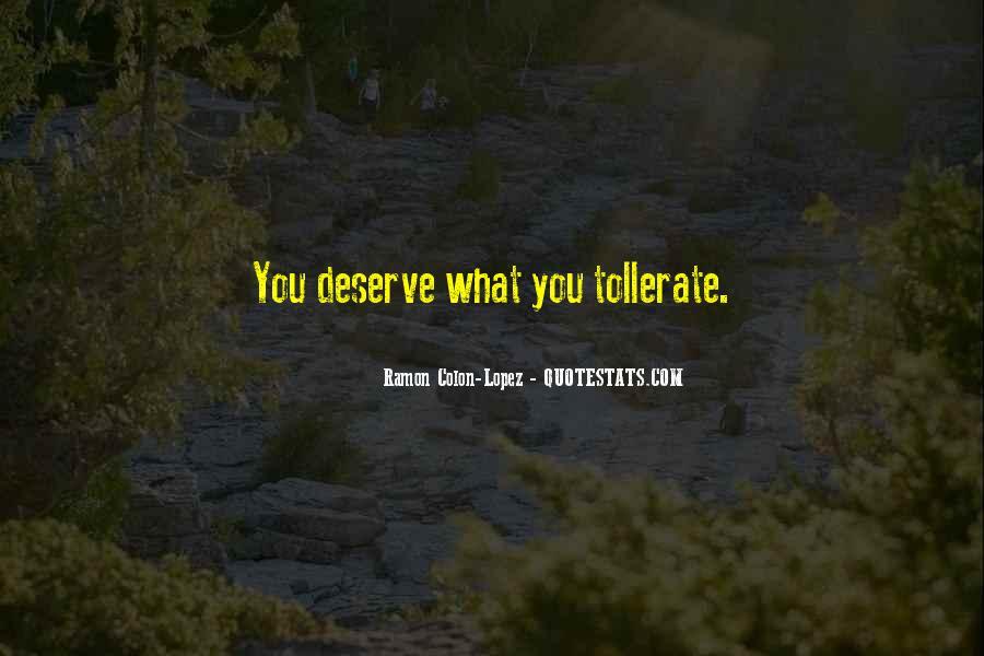 Tollerate Quotes #819387