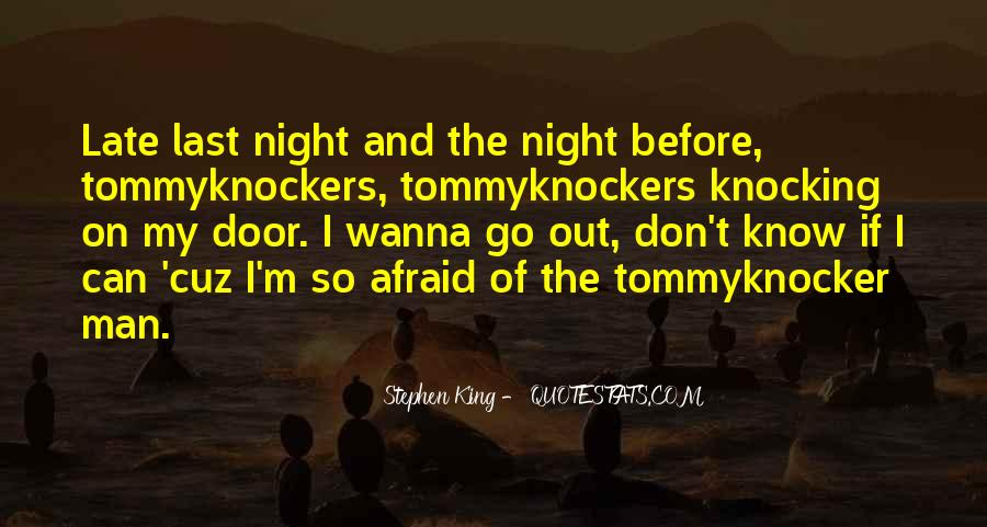 Tommyknocker Quotes #592303