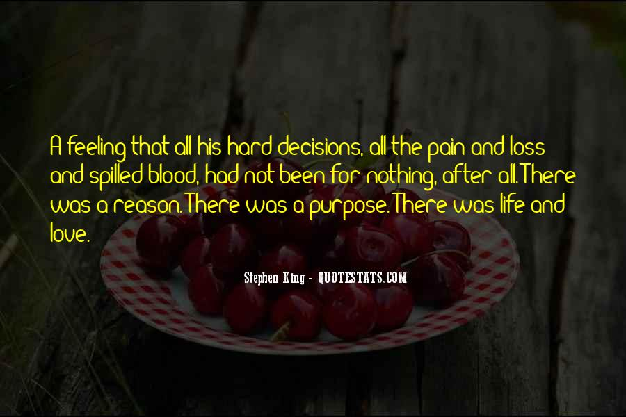 Quotes About Decisions In Life And Love #1592013