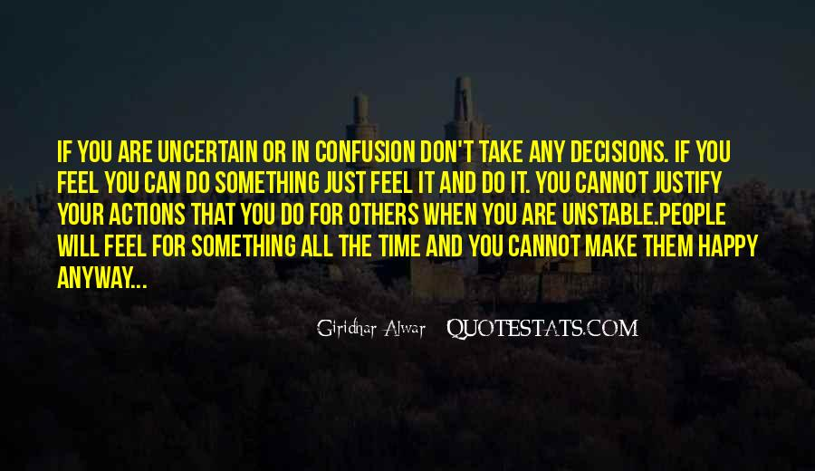 Quotes About Decisions In Life And Love #373119