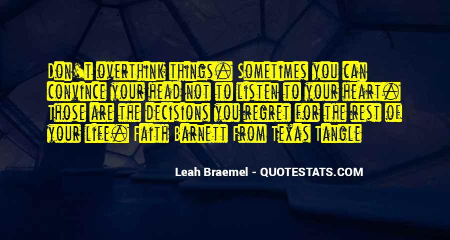 Quotes About Decisions In Life And Love #84819
