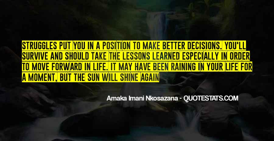 Quotes About Decisions In Life And Love #871269
