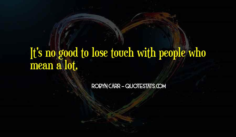 Touch's Quotes #37399