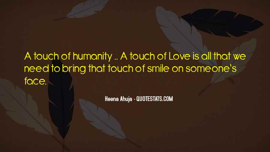 Touch's Quotes #50197