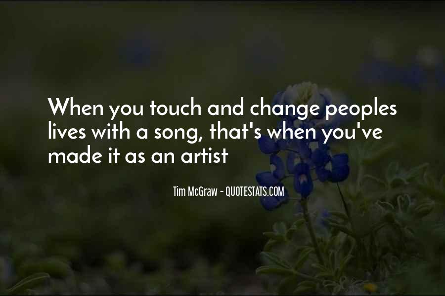 Touch's Quotes #51050