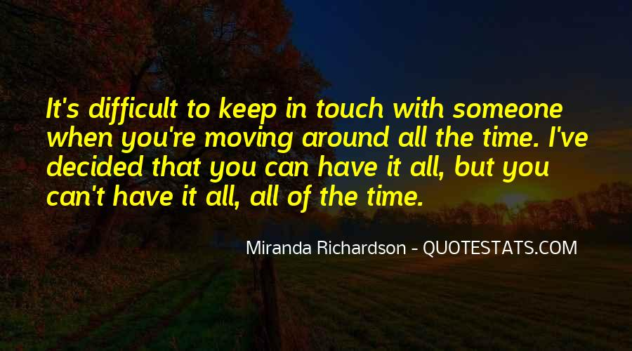 Touch's Quotes #62727