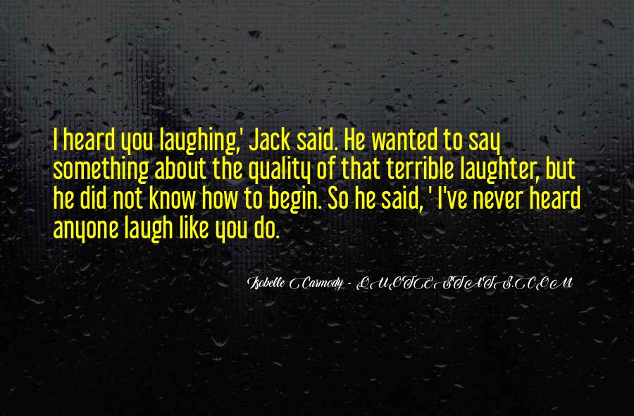 Quotes About Laughter #53733