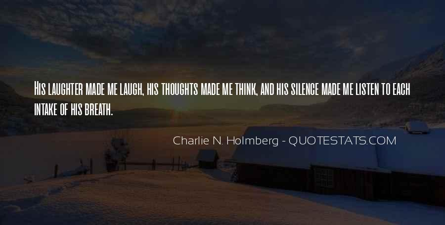 Quotes About Laughter #56524