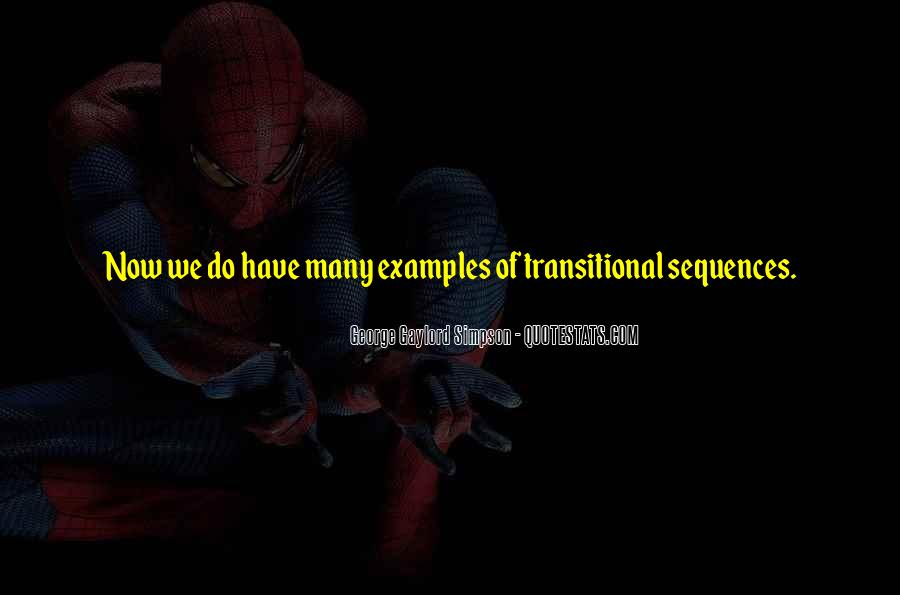 Transitional Quotes #928180