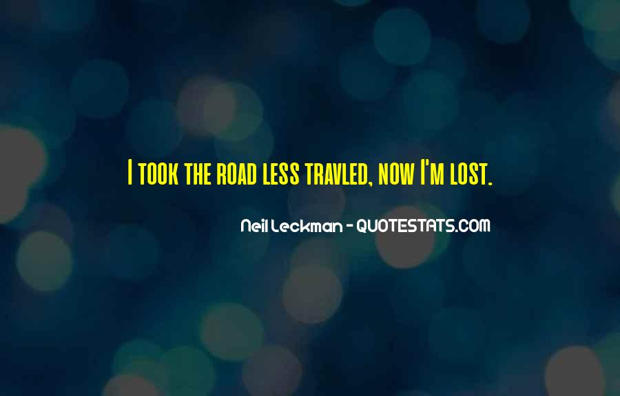 Travled Quotes #1047379