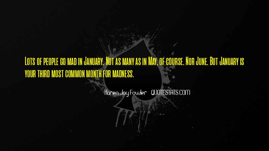 Quotes About Month Of January #1211030