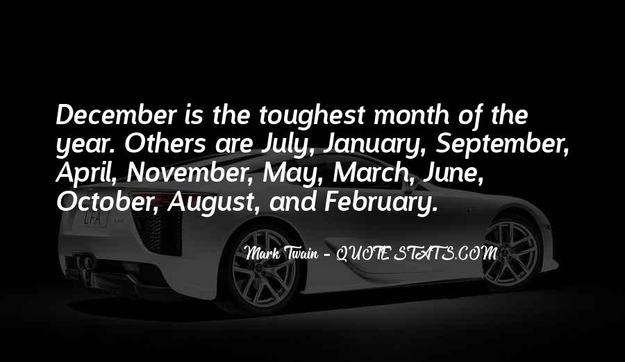 Quotes About Month Of January #1292225