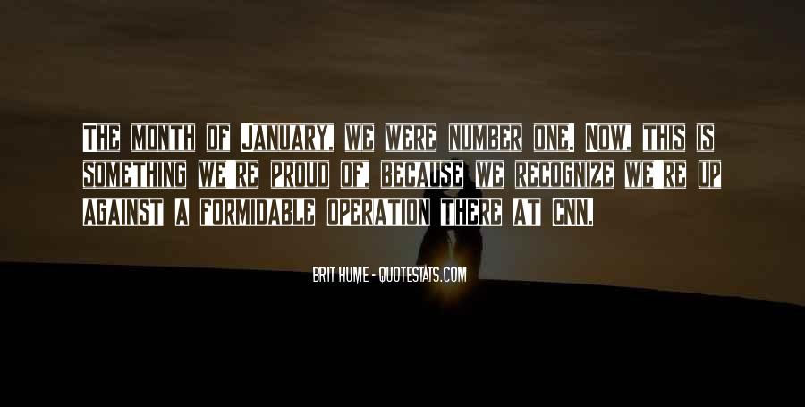 Quotes About Month Of January #1509017