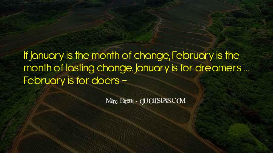 Quotes About Month Of January #1674732