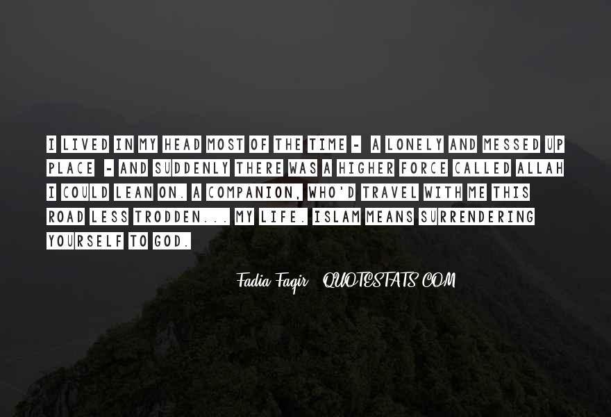 Quotes About A Messed Up Life #1715306