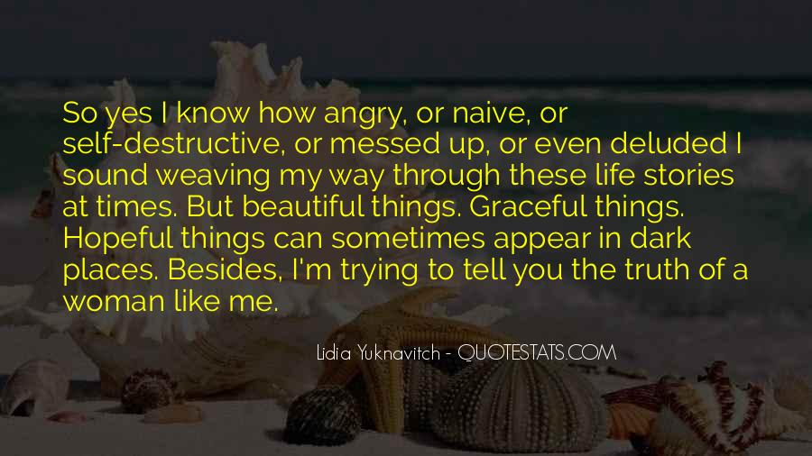 Quotes About A Messed Up Life #86457