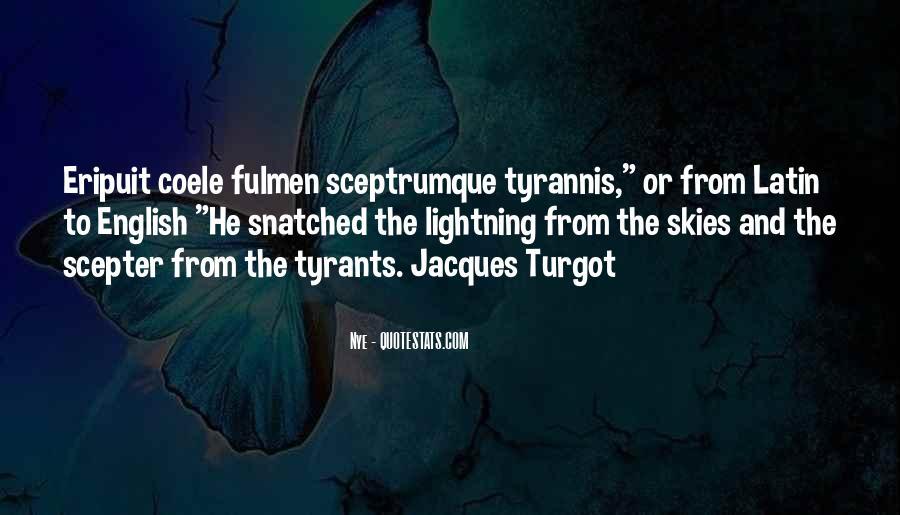 Turgot's Quotes #1719560