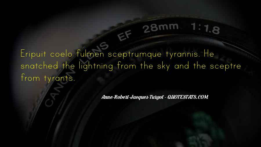 Turgot's Quotes #1871821