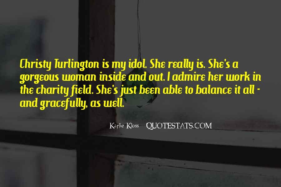 Turlington Quotes #1861828