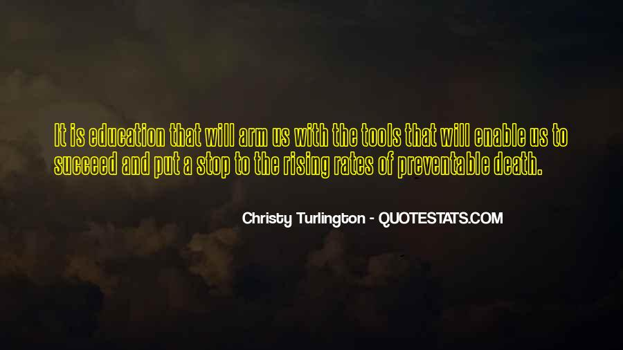 Turlington Quotes #197046