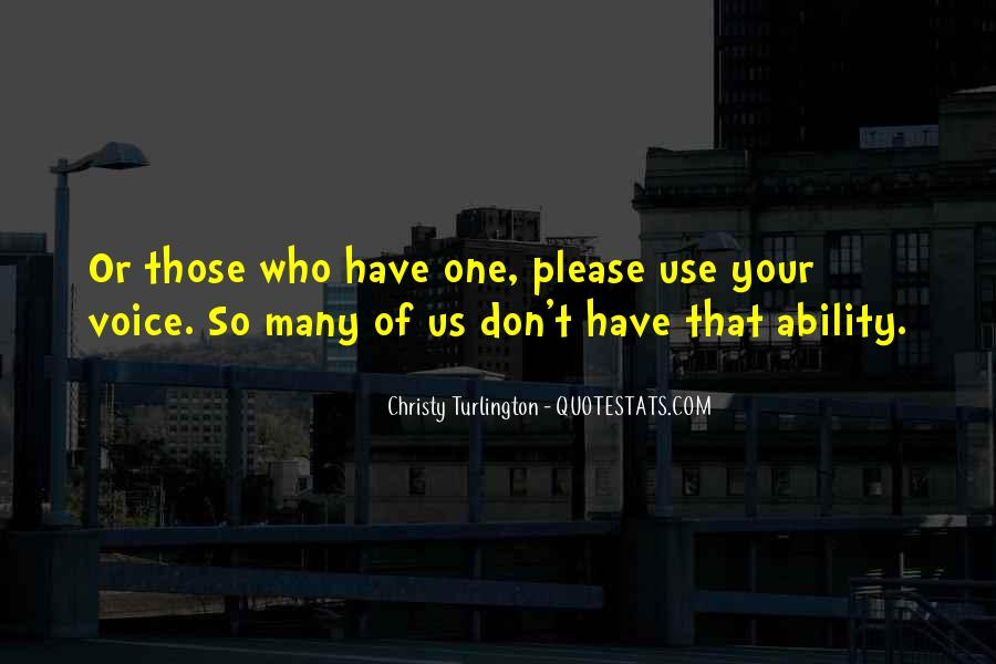 Turlington Quotes #422432