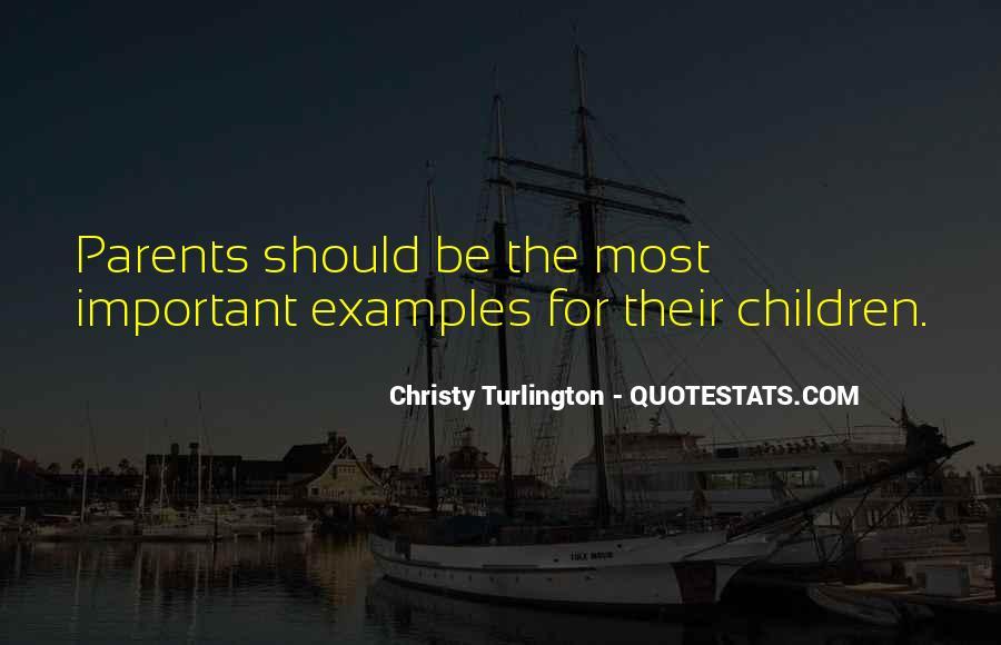 Turlington Quotes #922470