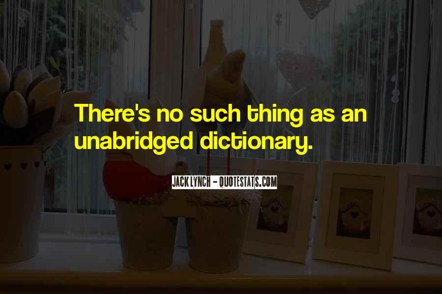 Unabridged Quotes #1232370