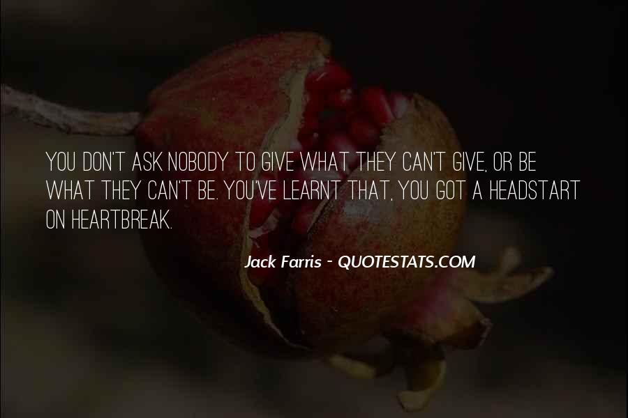 Quotes About I Have Learnt #96397