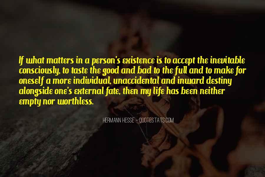 Unaccidental Quotes #556327
