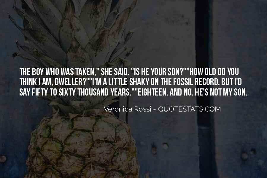 Quotes About The Fossil Record #1049719