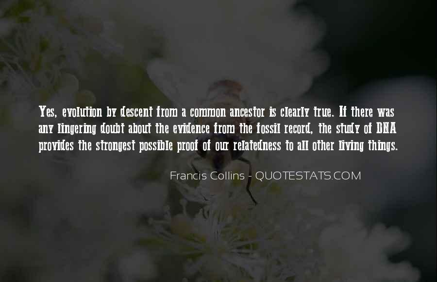 Quotes About The Fossil Record #1158899