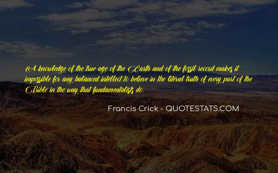 Quotes About The Fossil Record #1454574