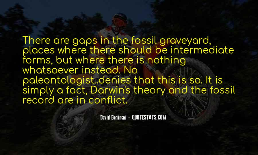 Quotes About The Fossil Record #1708056