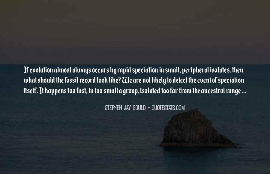 Quotes About The Fossil Record #1864843