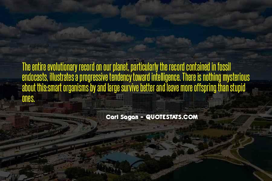 Quotes About The Fossil Record #527182