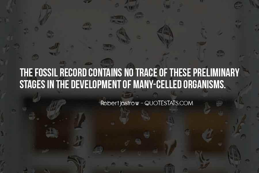 Quotes About The Fossil Record #546693