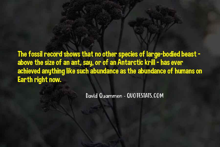 Quotes About The Fossil Record #785996