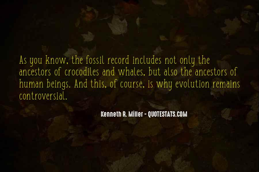 Quotes About The Fossil Record #873852