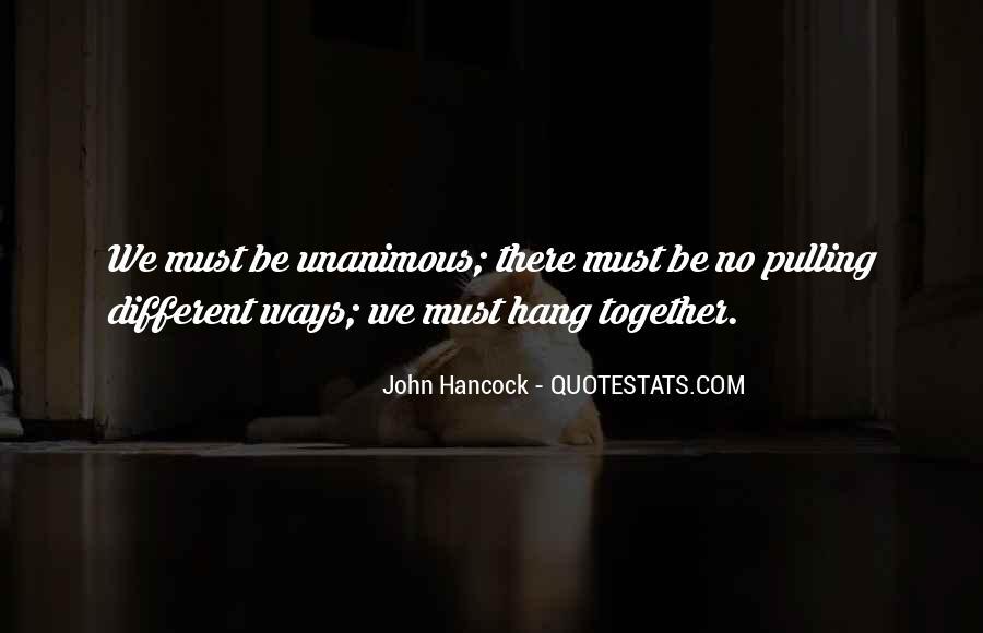 Unanimous Quotes #1475482