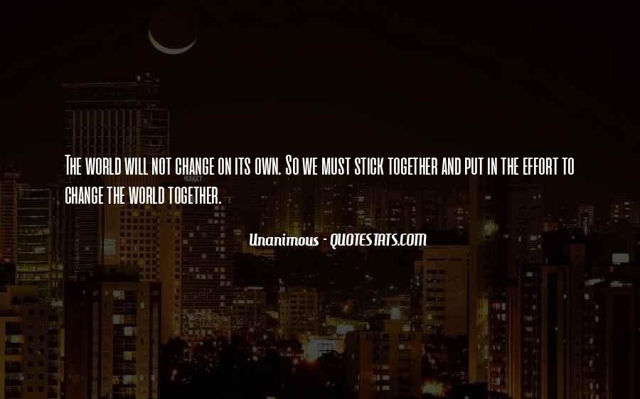 Unanimous Quotes #1658504