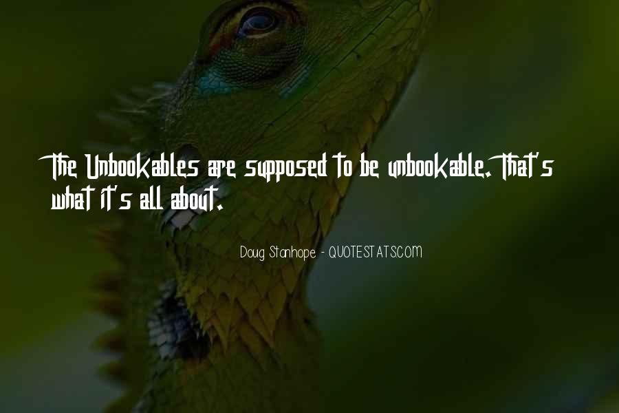 Unbookable Quotes #930739