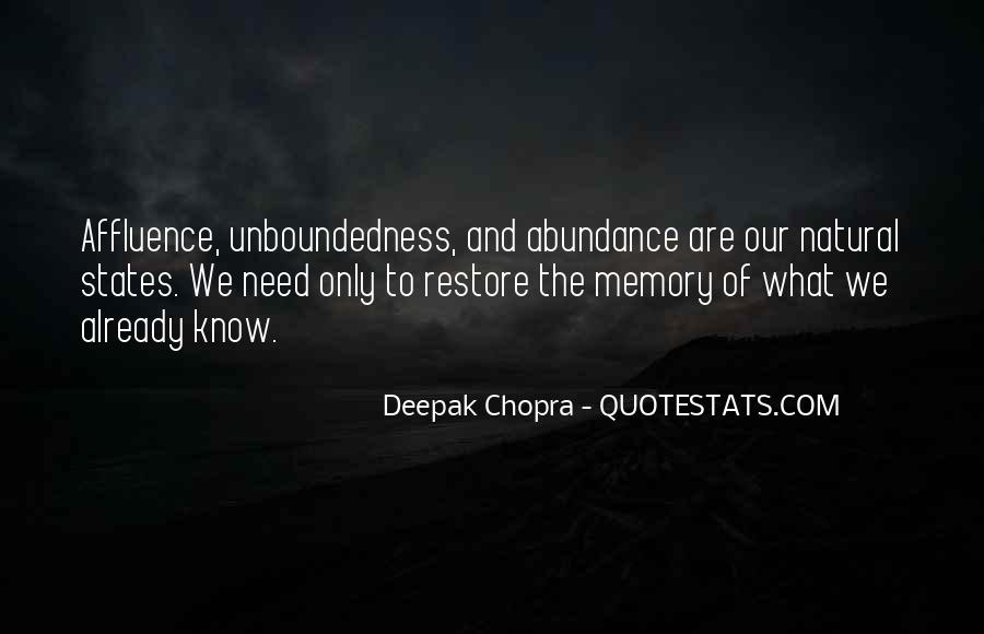 Unboundedness Quotes #190871