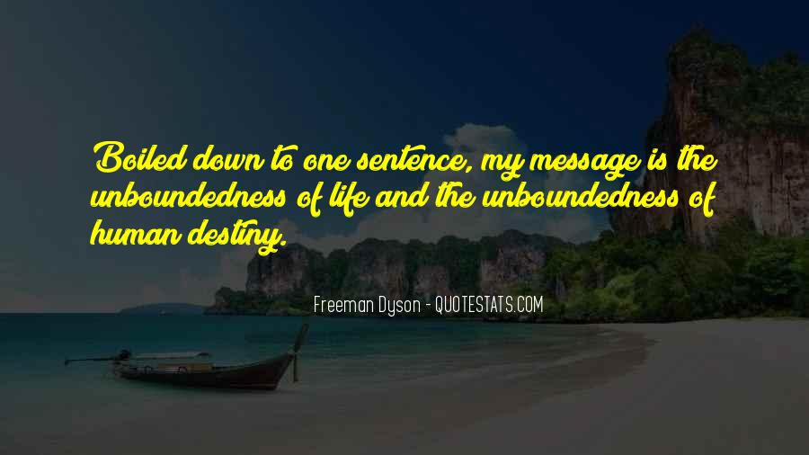 Unboundedness Quotes #861910