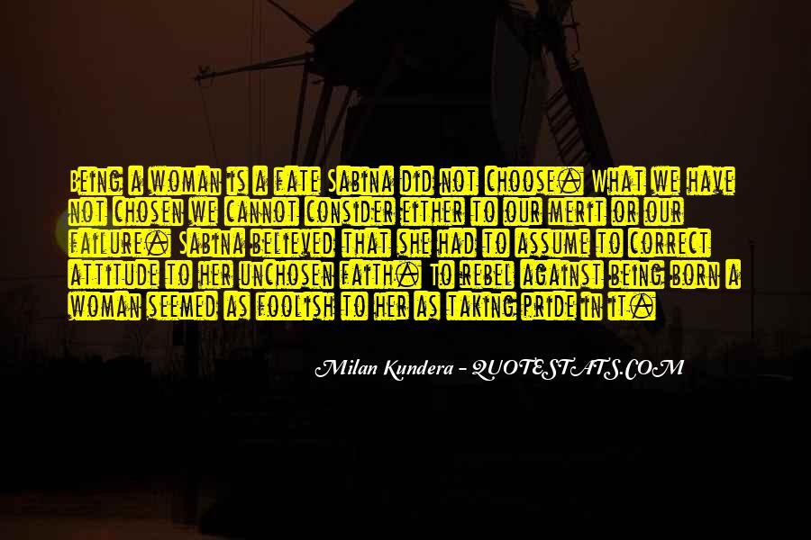 Unchosen Quotes #1512911