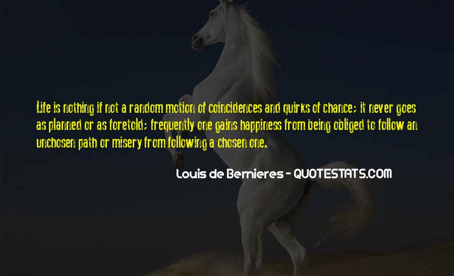 Unchosen Quotes #269411