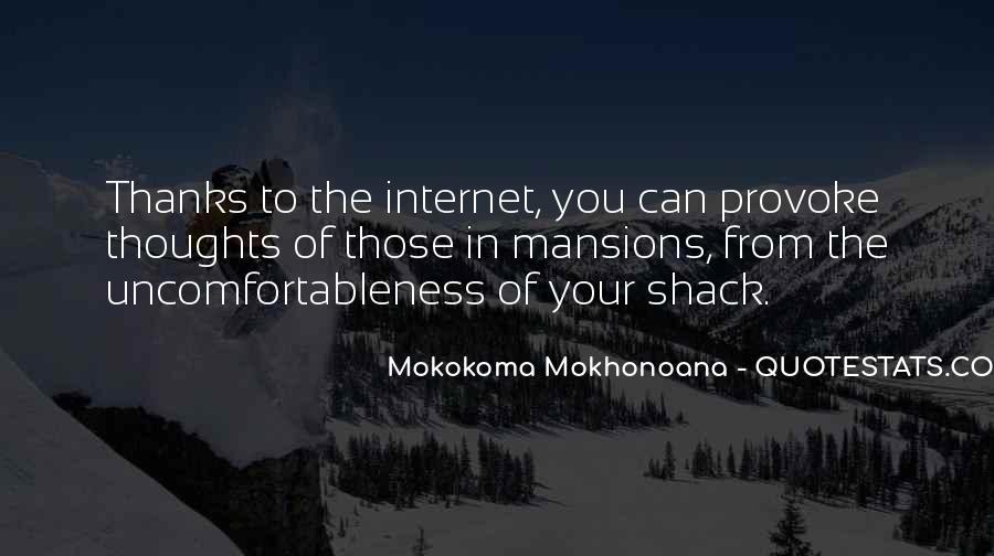Uncomfortableness Quotes #207367