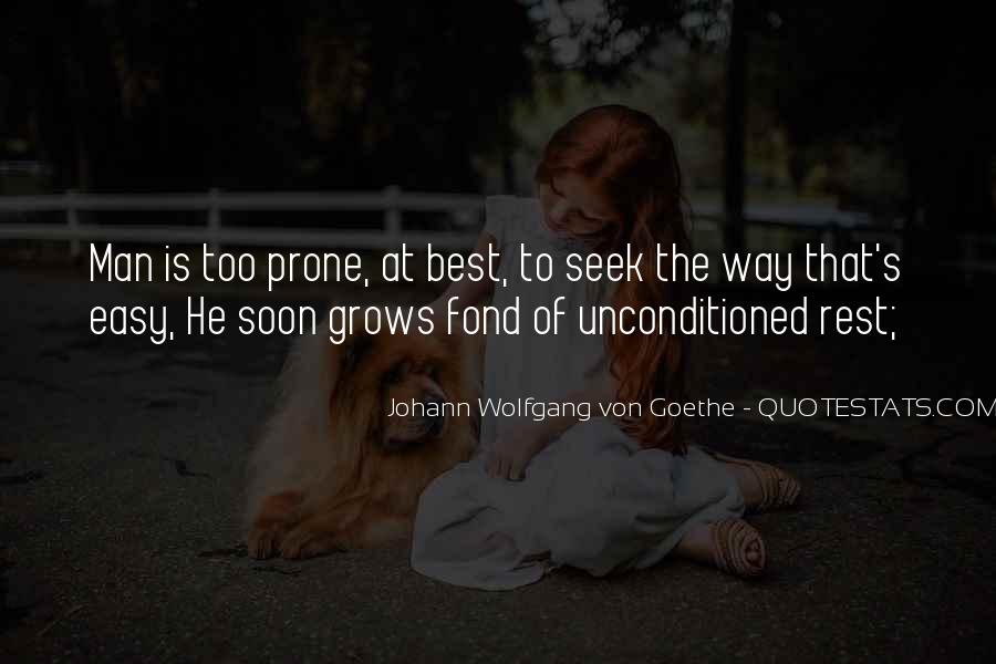 Unconditioned Quotes #1548896