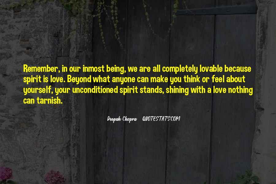 Unconditioned Quotes #840465