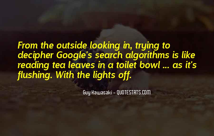 Quotes About Outside Looking In #1386875